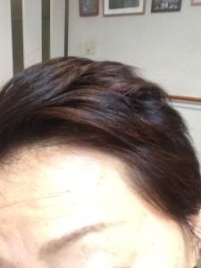 洋子ヘナ髪1