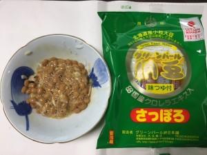 クロレラ納豆