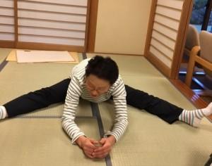 洋子開脚14日目