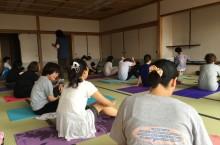 5月のヨガ教室