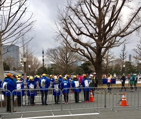 東京マラソンゴール