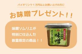 お味噌プレゼント!!